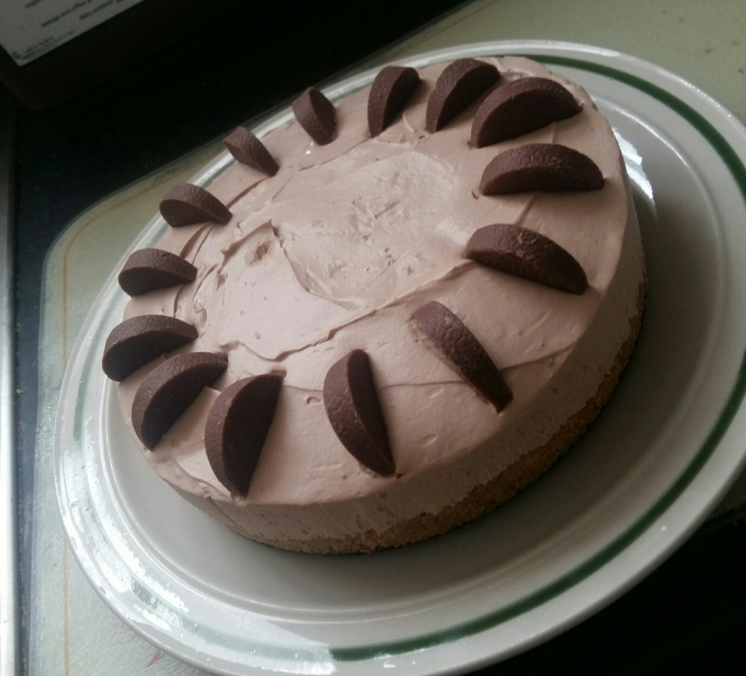 Terry Chocolate Orange No-Bake CheesecakeRecipe!