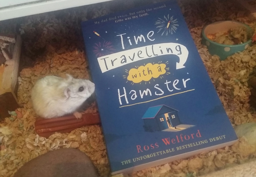 Time Travelling with a Hamster by Ross Welford (Book Review)