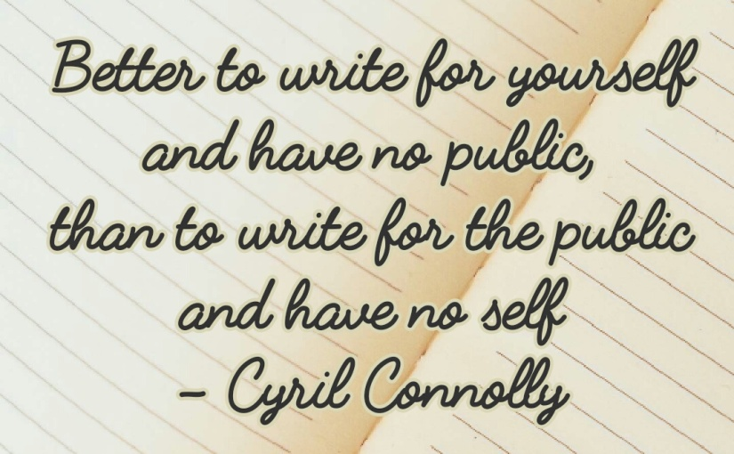 Writing: Always write foryou!